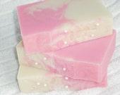 Valentine Soap / Love Spell Soap / pink soap / feminine soap / Cold Process Handmade Soap