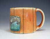 Ceramic Coffee Mug - Unique Handmade Mug