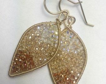 Ombré Swarovski Crystal Dangles