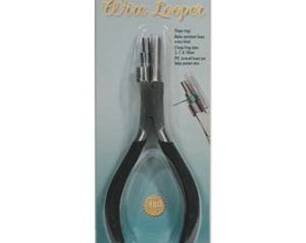 Small Multi-Step Wire Looper, wire looping pliers by The Bead Smith
