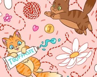 Cats A4 Print