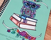 Adult Coloring Book - Curl Up & Color - Travel Size - Single Side Pages on Thick Cardstock with Durable Cover - Coloring Book - DailyDoodler