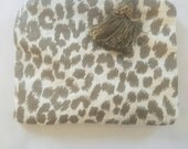 African Pouch, Coin Purse in Silas