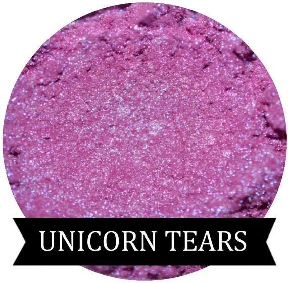 UNICORN TEARS Iridescent Purple Eyeshadow