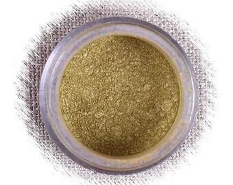 Ice Gold Luster Dust, Edible Luster Dust, Dark Gold Luster Powder, Gold Edible Luster Powder, FDA Approved Luster Dust, Gold Luster Dust