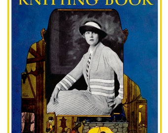 Minerva Knitting Book #18 c.1923 (PDF - EBook - Digital Download) Including Helpful Bonus Pages