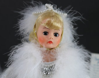 1138, Madame Alexander Dolls, Snow Queen, Madame Alexander Doll Vintage