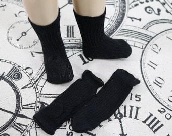 Vintage  Doll Socks - Ribbed Doll Socks - Doll Socks With Heel