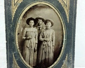 Old West Victorian Tintype