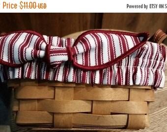 Lovely Longaberger sm Basket Garters--Buyers Choice--HARD FIND--Vintage  15% off all 40 dollar and under vintage listings
