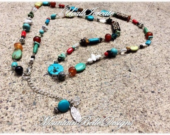 Gypsy Necklace (Cowgirl Up Edition)/Handmade by Me/Gifts for Her