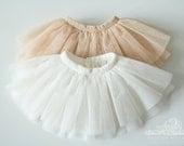 Soft tulle mesh skirts for slim Mini Super Dollfie MNF Minifee Moe A-line Fairyland MSD