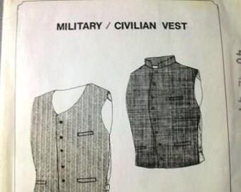Military/Civilian Vest Pattern