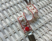 Gumdrop/Soothie -  Christmas  Pacifier Clip - Paci Clip