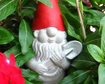 Concrete Gnome Statue / Fairy Garden Decor,Yard Art