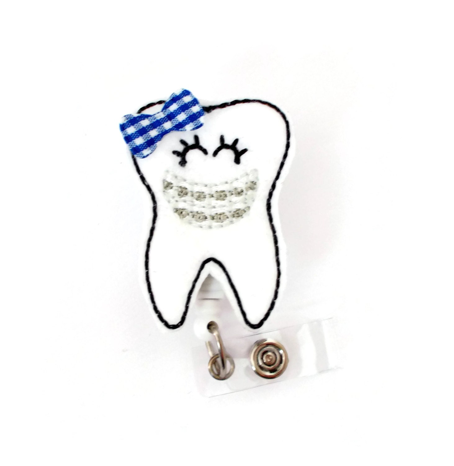 Tracy the Tooth - Dental Assistant Badge Holder - Dentist Badges ...
