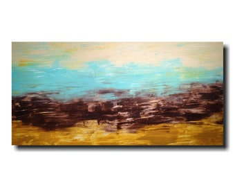 Art painting Jmjartstudio Original Painting 24 X 48 Inches ------- Subtle Changes  ------