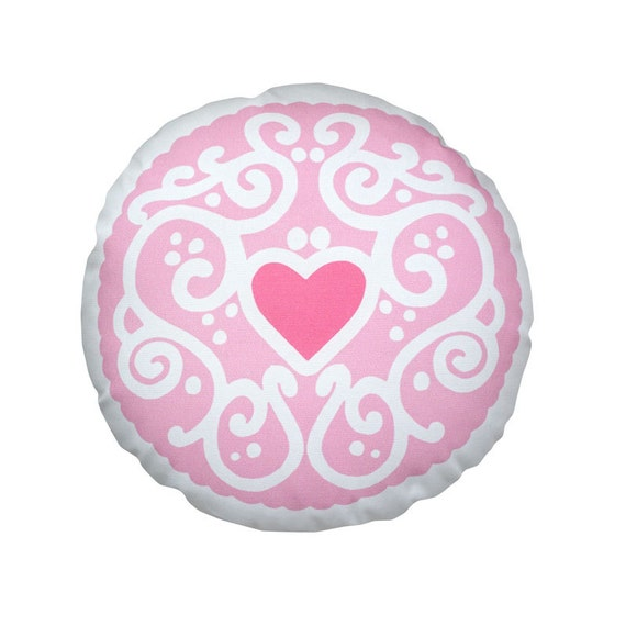 Jammy Heart Printed Cushion