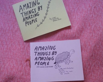 Amazing things by amazing people: volume 1 or 2