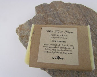 White Tea and Ginger Handmade Soap
