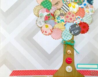 Spring Tree 12x12 tammy i Specialty Page Kit
