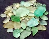 Sea Glass or Beach Glass of Hawaii beaches SEAFOAM!  AQUA! Ocean BLUE Beauties! Bulk Sea Glass for Jewelry! Mosaic Tiles! Sea Glass Jewelry