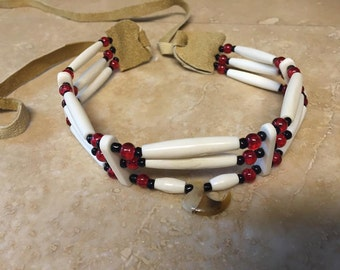 Real Bobcat claw choker native american made