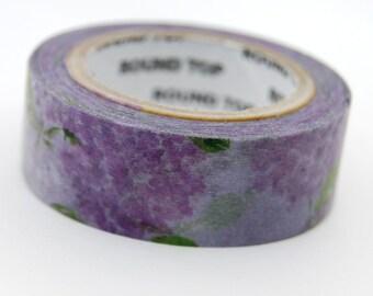 Chamil garden Hydrangea washi tape 15mm x 10M washi masking tape