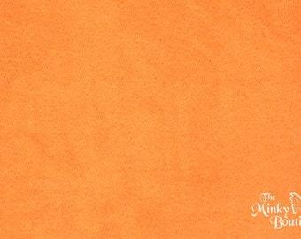 Minky Smooth Cuddle - Orange