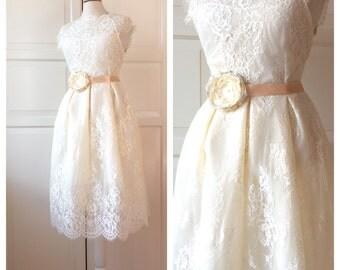 Romantic  Bridal Chiffon Belt Flower Sash for Wedding