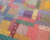 Custom Listing for Kay - quilting and binding of large lap quilt