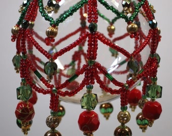 97. Beaded Ornament Cover