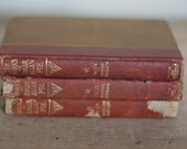 vintage the works of edgar allan poe three volumes 3, 6 and 7 1904