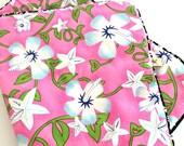 EMAR Dog Blanket Pink Aloha Dog blanket Cat blanket