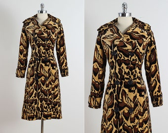 Count Romi . vintage 1960s coat . vintage leopard print coat . 5397