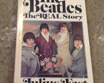 1968 Beatles Paperback Book The Real Story by Julius Fast Great Condition