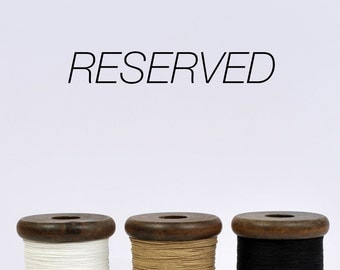SPECIAL - Reserved Listing for Linda
