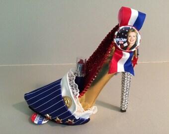 "Hillary High Heel: ""Madame President"""