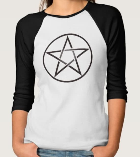 Good Witch or Bad Witch Raglan Tee Shirt