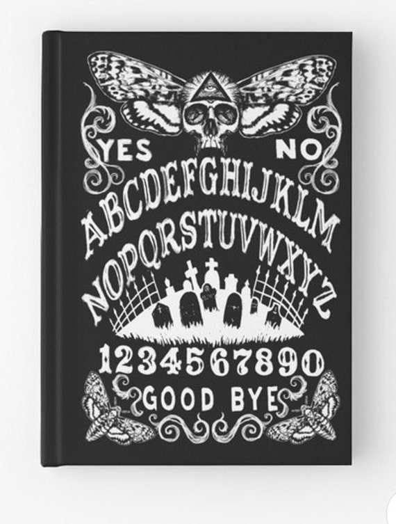Spell Book, Journal, Grimoire Death Moth Ouija