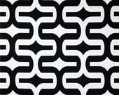 CLEARANCE SALE Premier prints embrace black geometry fabric 1 yard