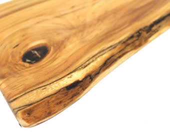 Spalted Live Edge Birch Serving Board - Sustainable Harvest -  OOAK - Timber Green Woods
