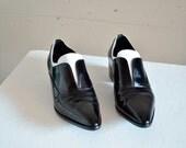 PRADA patent leather shoes / 6