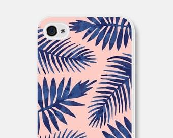 Samsung Galaxy S7 Case Bright Phone Case Pink iPhone 6 Case Leaves iPhone 6s Case Tropical iPhone 5s Case Pink iPhone 5c Case Blue Pink