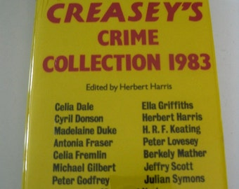 Vintage Book, John Creasey's Crime Collection 1983, HC With DJ, First US Edition