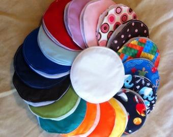 Reusable Nursing Pads - Set of 9 Pairs