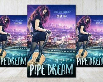 """Premade Digital eBook Book Cover Design """"Pipe Dream"""" Contemporary Romance General Fiction YA Young Adult Fiction"""