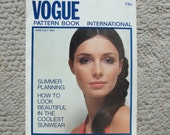 June/July 1969 Vogue Pattern Book International    96 Pages of Fantastic Fashion Photography, Ads, & Articles