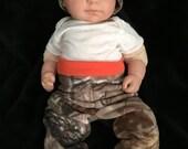 Baby boy or girl real tree mossy oak true timber newborn baby pants