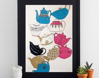 Teapot Poster Print
